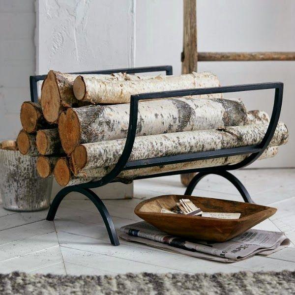 16 Creative Firewood Storage Ideas For Modern Schmeck Of
