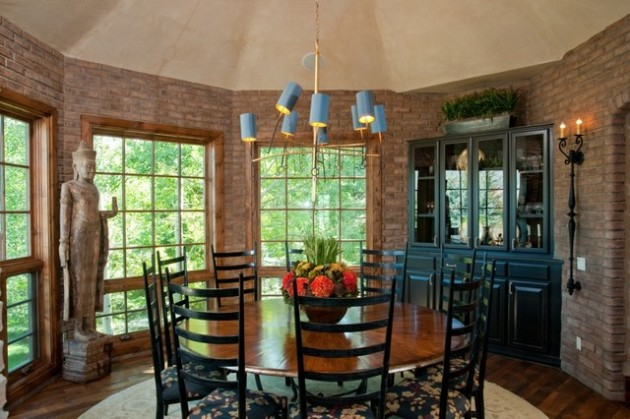 15 Beautiful Round Dining Room Ideas For Pleasant Atmosphere