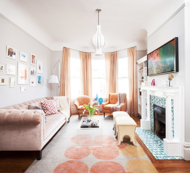15 Functional Ideas How To Decorate Small Living Room