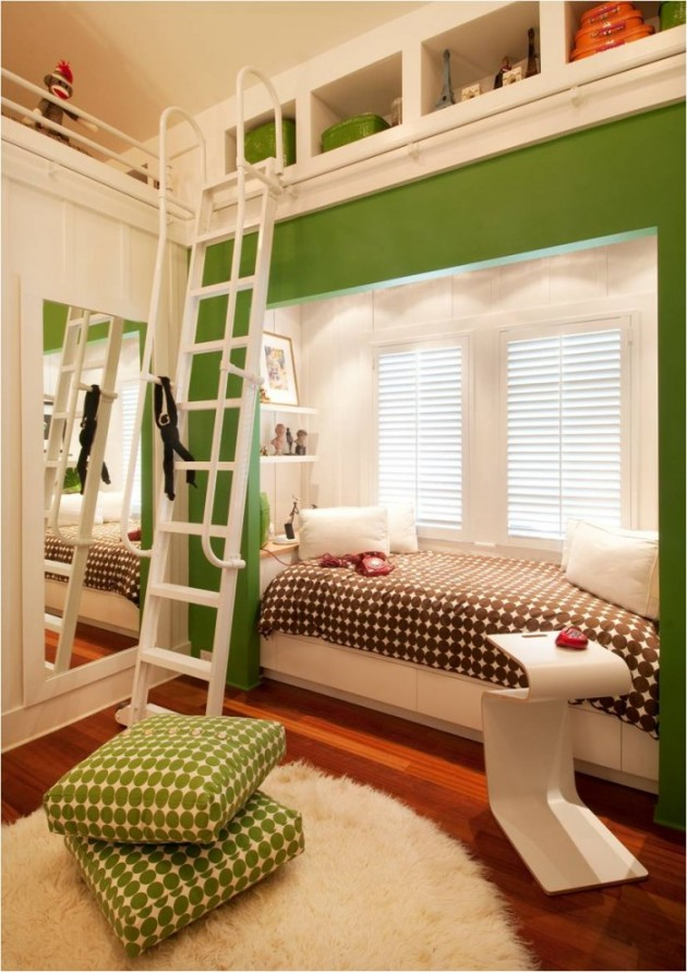 15 Beautiful And Creative Transitional Kids Room Designs
