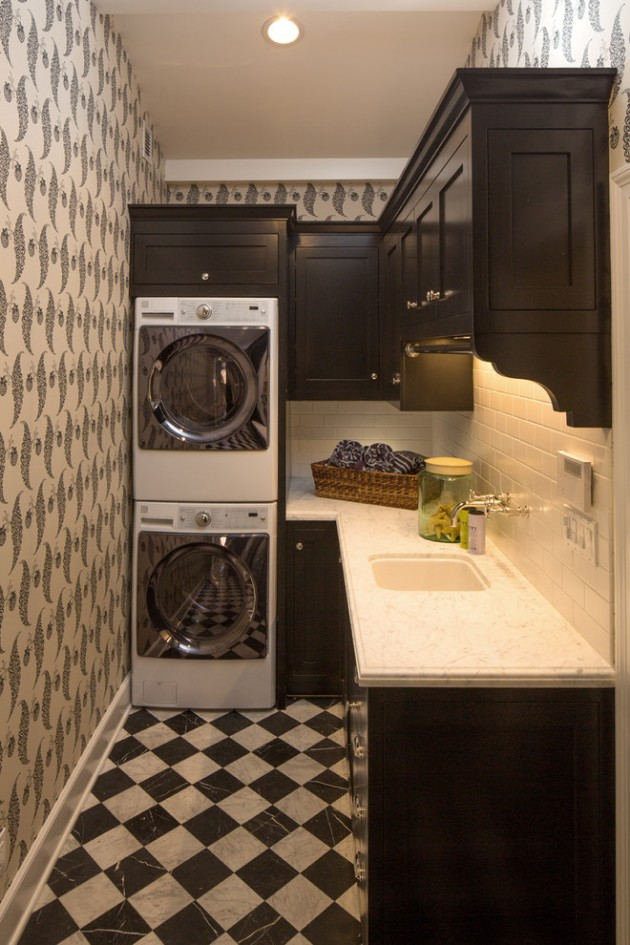 Traditional Interior Design: 15 Elegant Laundry Room Designs To Get Ideas From