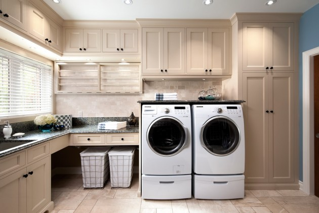 15 elegant laundry room designs to get ideas from Design a laundr room laout