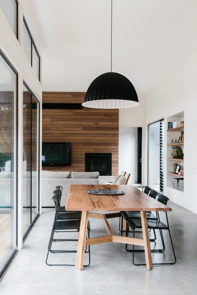 15 Extraordinary Contemporary Dining Room Designs