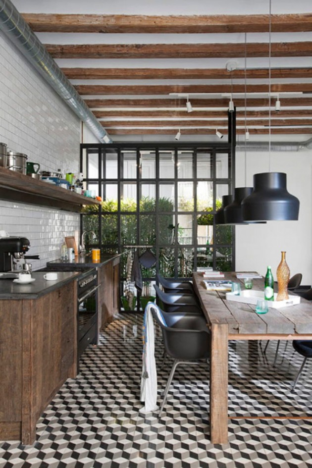 Home Office Room Design: 15 Extraordinary Modern Industrial Kitchen Interior Designs