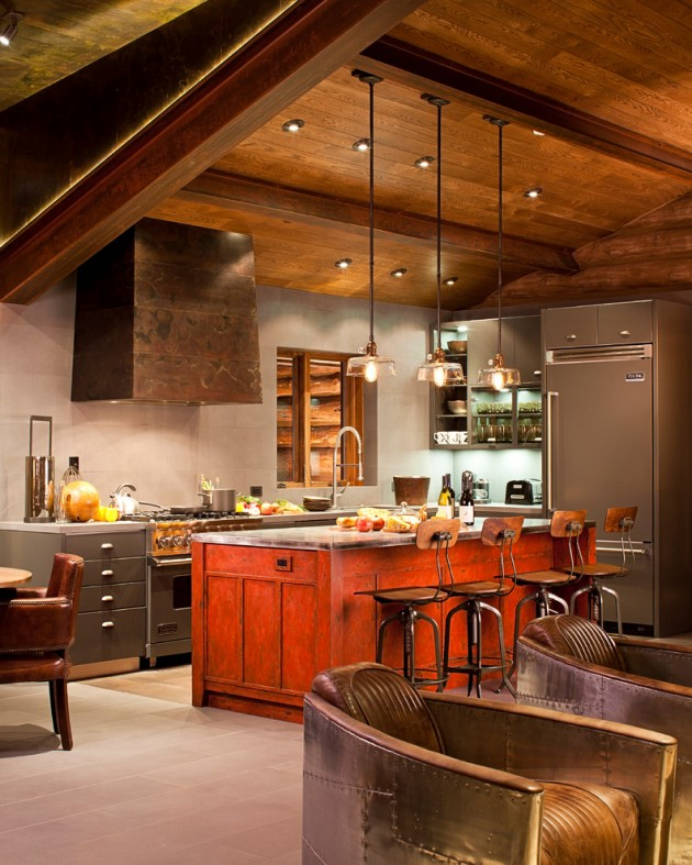 15 Amazing Interior Design Ideas For Modern Loft: 15 Extraordinary Modern Industrial Kitchen Interior Designs