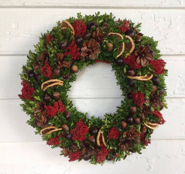 15 Magical Handmade Christmas Wreath Designs You Can DIY