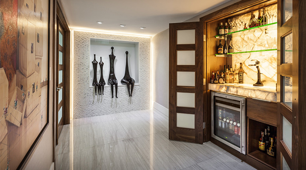 Nice 15 Majestic Contemporary Home Bar Designs For Inspiration
