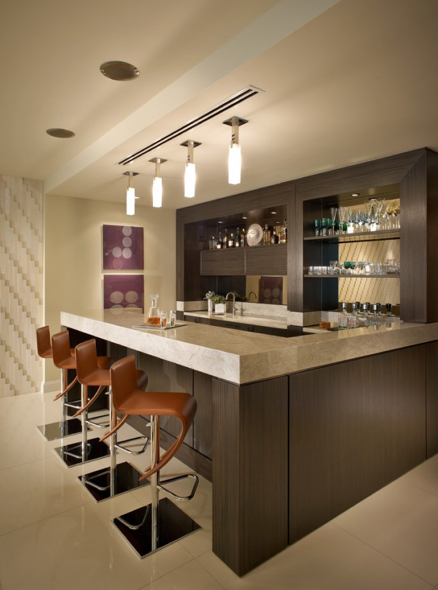 Charmant 15 Majestic Contemporary Home Bar Designs For Inspiration