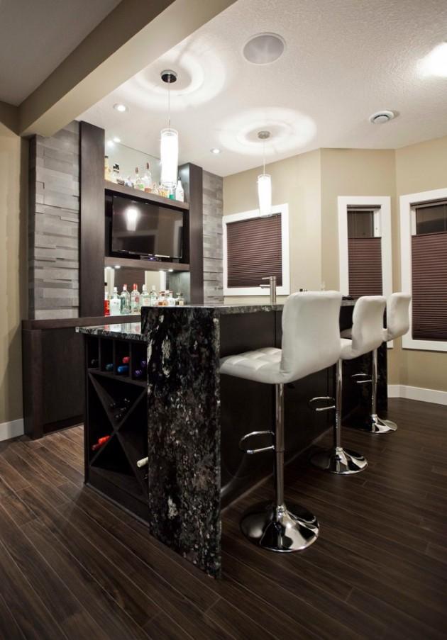 15 Majestic Contemporary Home Bar Designs For Inspiration