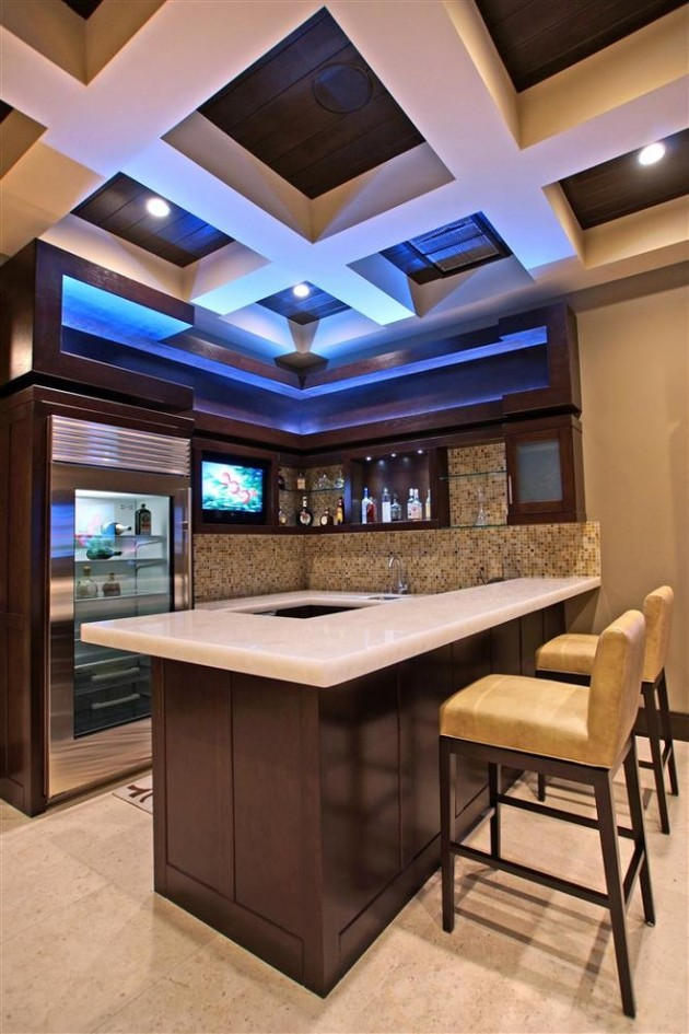 Home Design Ideas Pictures: 15 Majestic Contemporary Home Bar Designs For Inspiration