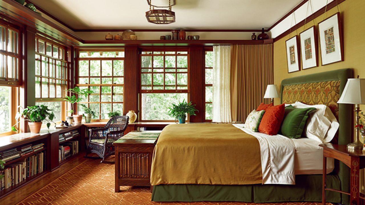 Craftsman Bedroom Interior Designs