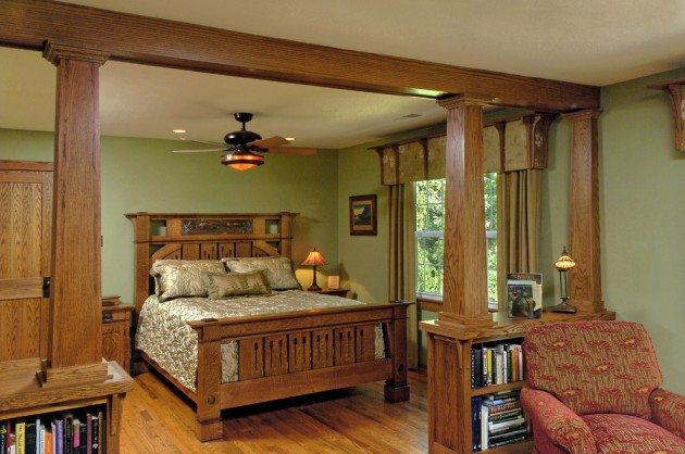 15 Inspiring Design Ideas: 15 Marvelous Craftsman Bedroom Interior Designs For