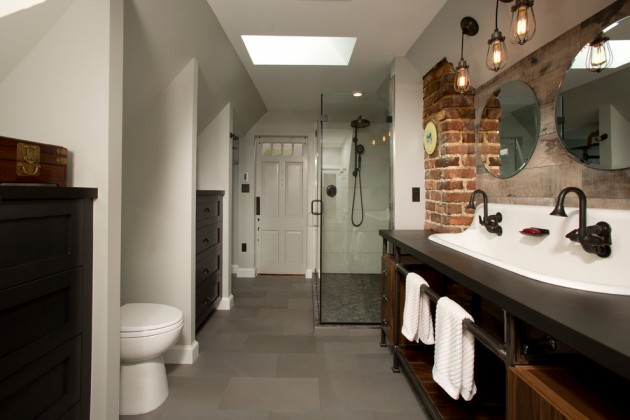 15 Mind-blowing Industrial Bathroom Designs For Inspiration
