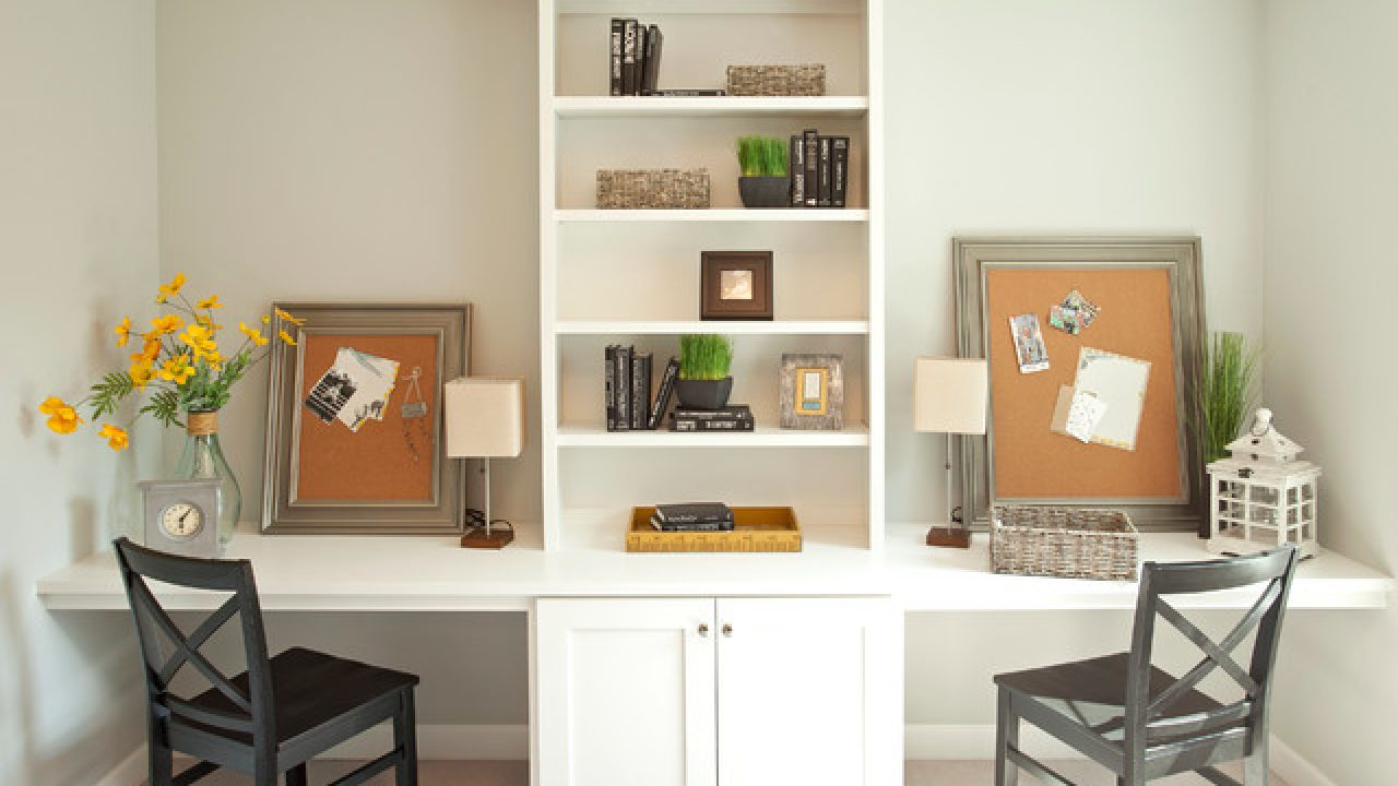 18 Practical Shared Home Office Design Ideas For More Productive Atmosphere