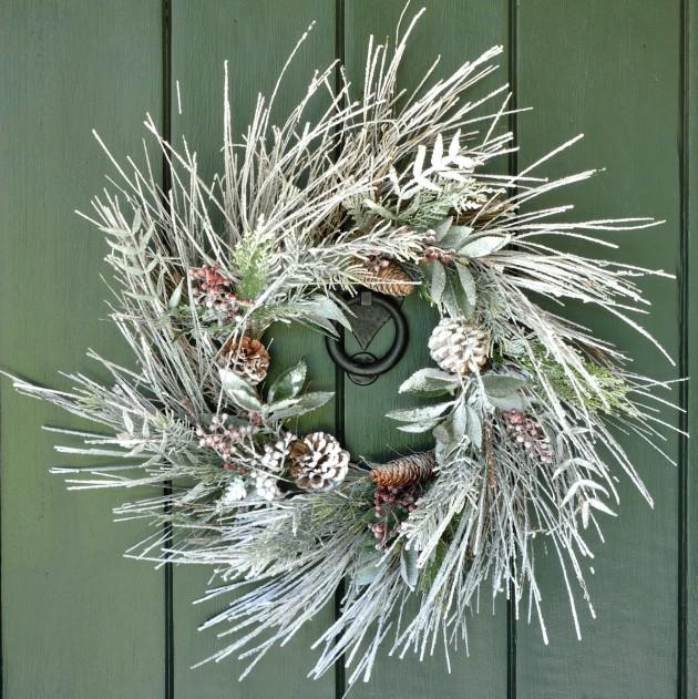 Winter Wreath Designs For Your Front Door