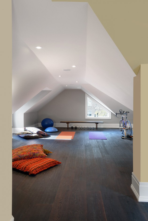 16 Tranquil Yoga Room Designs That Will Motivate You To Workout