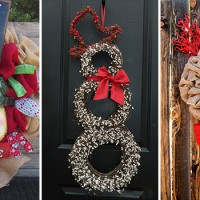 17 Whimsical Handmade Christmas Wreath Designs For Inspiration