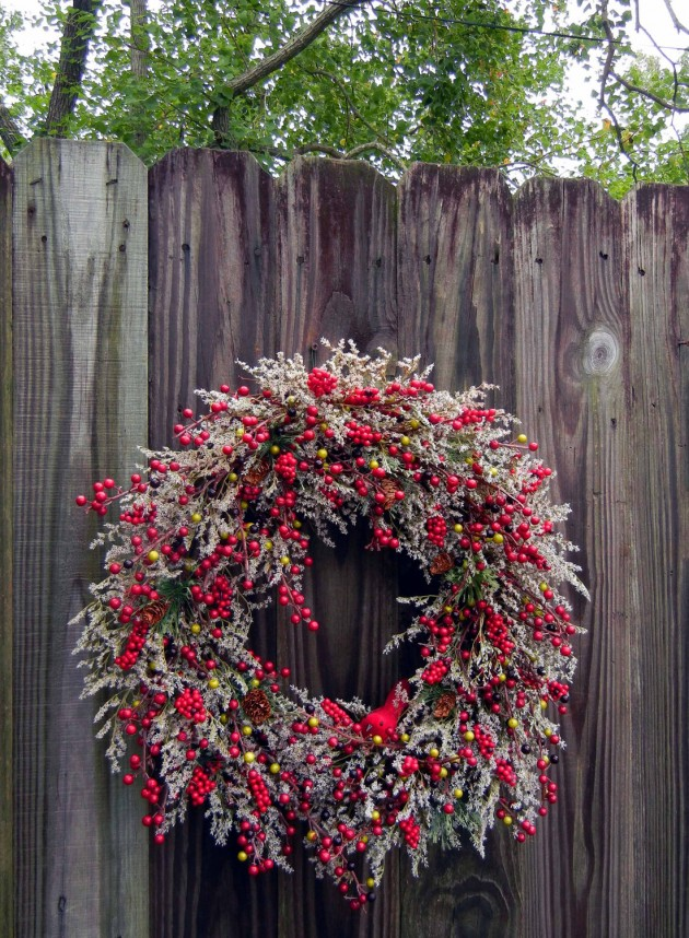 Summer Front Door Wreath: 17 Whimsical Handmade Christmas Wreath Designs For Inspiration