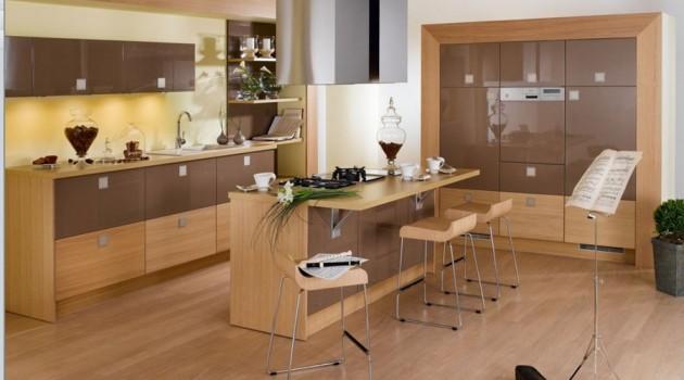 17 Magnificent Wooden Kitchen Design Ideas for Warm Atmosphere