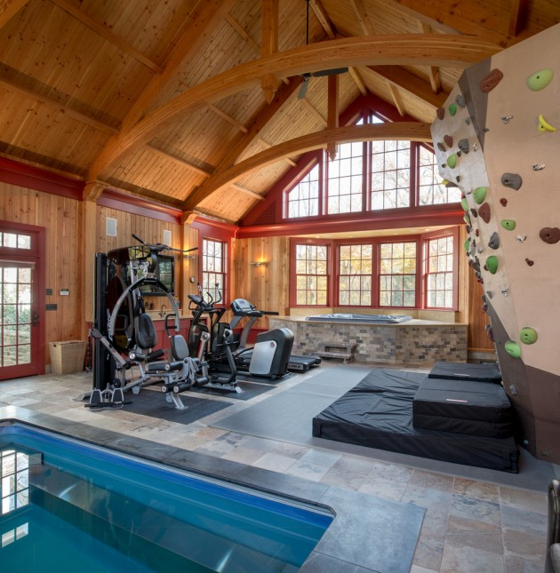 Interior Design Ideas For Home Gym: 20 Energizing Private Luxury Gym Designs For Your Home