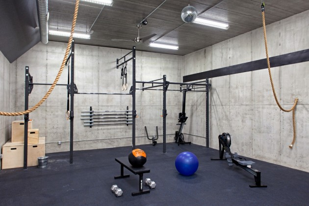 Making a Gym in the Basement Space