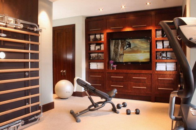 Basement Gym Ideas