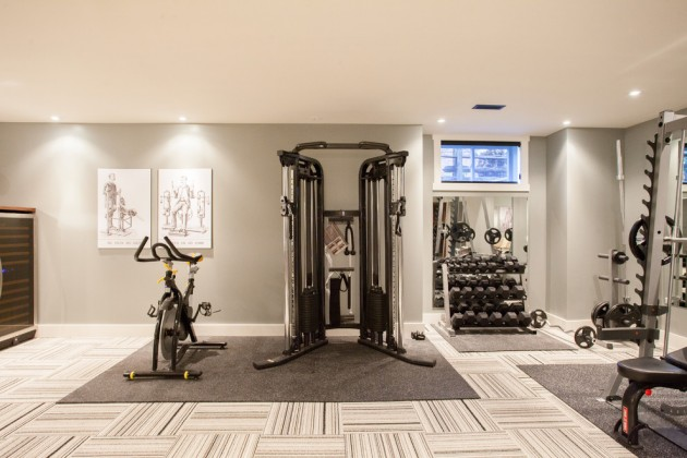 Turning Unused Space Into A Home Gym