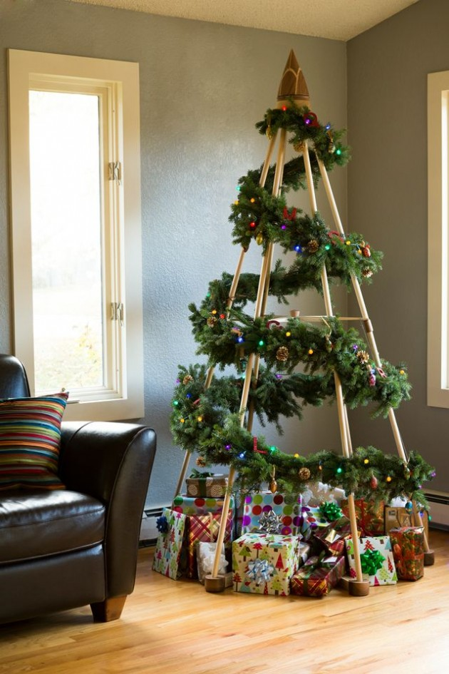 & Top 21 The Most Spectacular u0026 Unique DIY Christmas Tree Ideas
