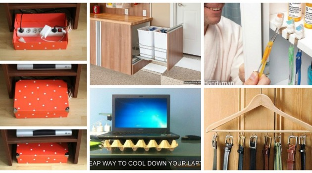 Top 23 of The Most Genius Life Hacks That You Must Try to Improve Your Home