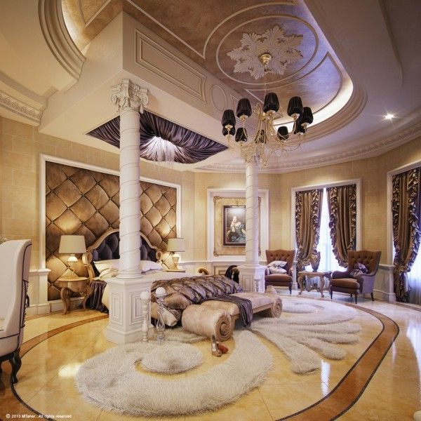Luxury Homes Interior Designs Old World Style With Amazing: 13 Glam Luxury Bedroom Design Ideas