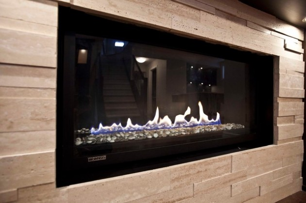Add Warmth in Your Home  14 Super Modern Fireplace Design