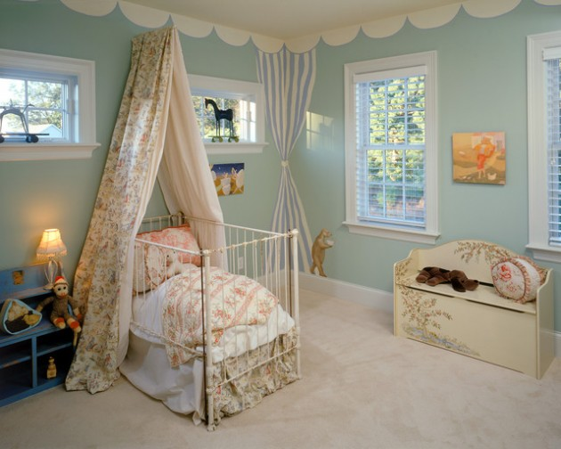 17 Lovely Nursery Bed Design Ideas for Fairy Tale Nursery