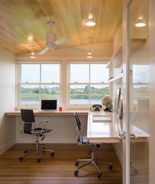 18 Practical Shared Home Office Design Ideas For More
