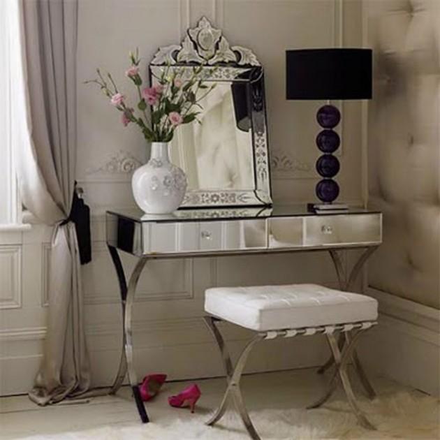 10 Charming Vintage Makeup Dresser Ideas