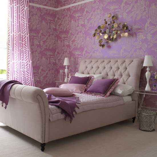 Purple in Your Bedroom  10 Fantastic Ideas