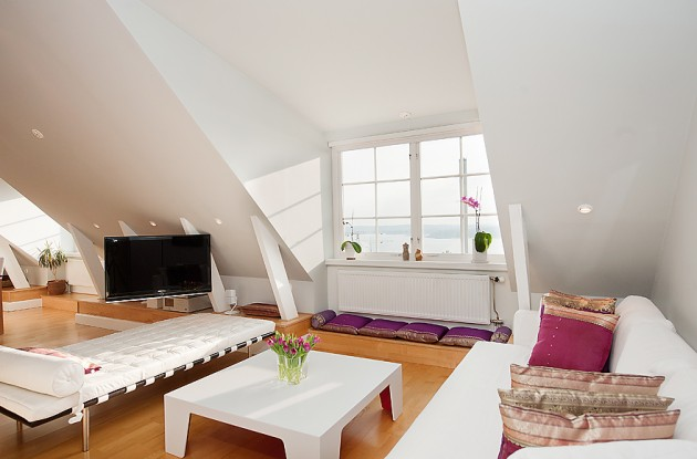 15 Functional Solutions for Your Attic Living Room