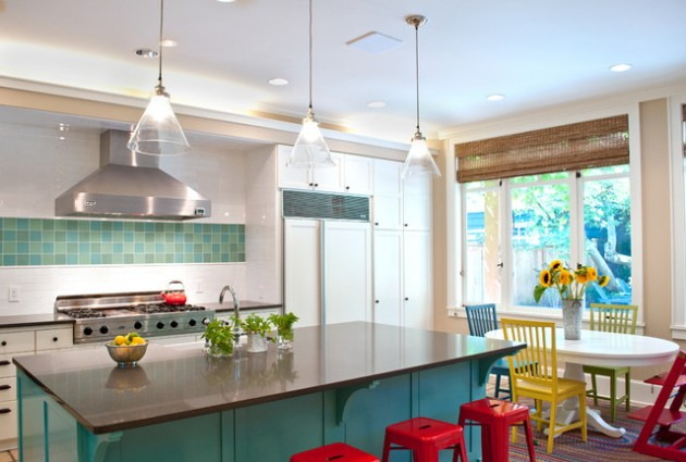 10 Inspiring Ideas To Add Charm to Every Kitchen With Colorful Details