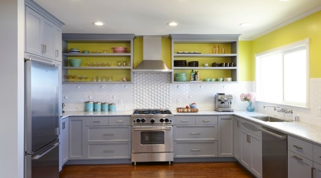 Beautify Your Kitchen with Open Shelves