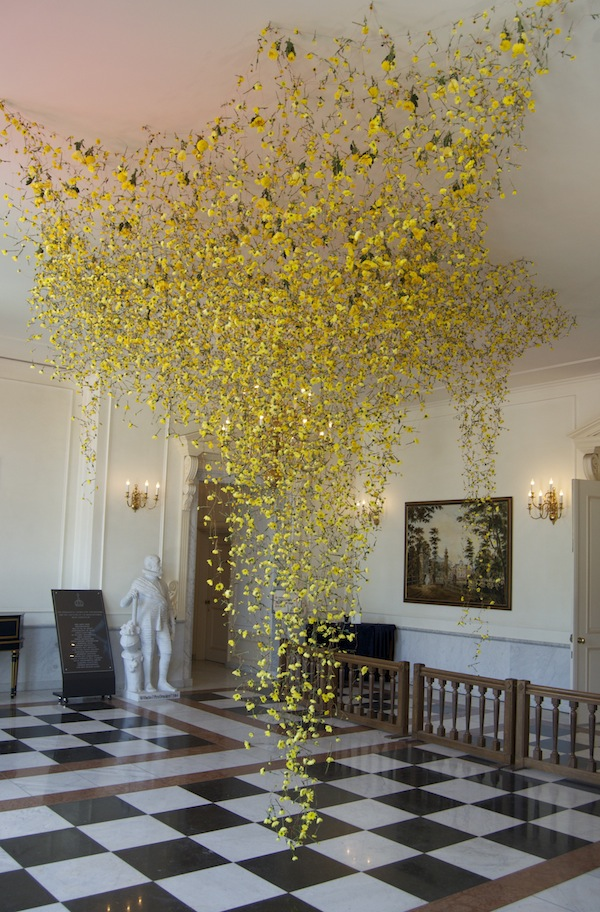 Three Incredible Installations with Flowers