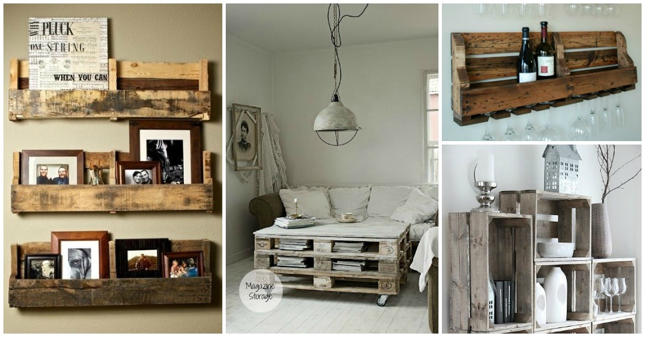 Creative & Useful: 20 Extremely Genius DIY Pallet Storage ... on Pallet Design  id=15077