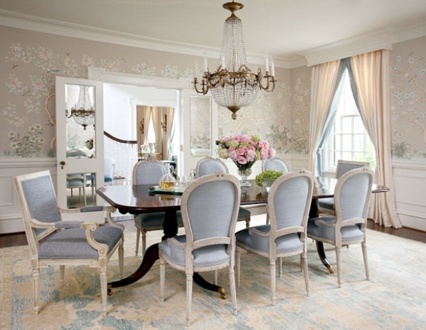 Dining Room Design Ideas 85 best dining room decorating ideas and pictures 18 Classy Feminine Dining Room Design Ideas