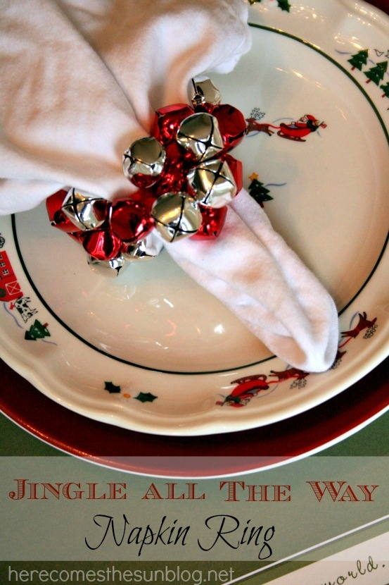 17 fascinating diy christmas napkin holders to add a