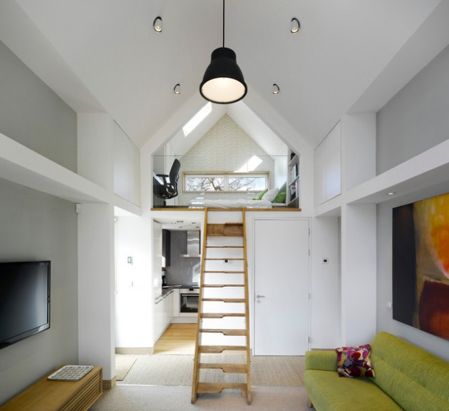 18 Functional & Beautiful Small Contemporary Loft Designs That WIll Fit Every Home Decor