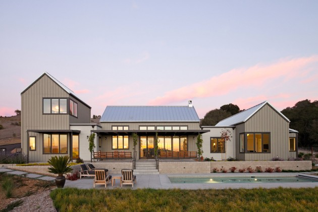 15 Aesthetic Farmhouse Exterior Designs Showing The Luxury Side Of The