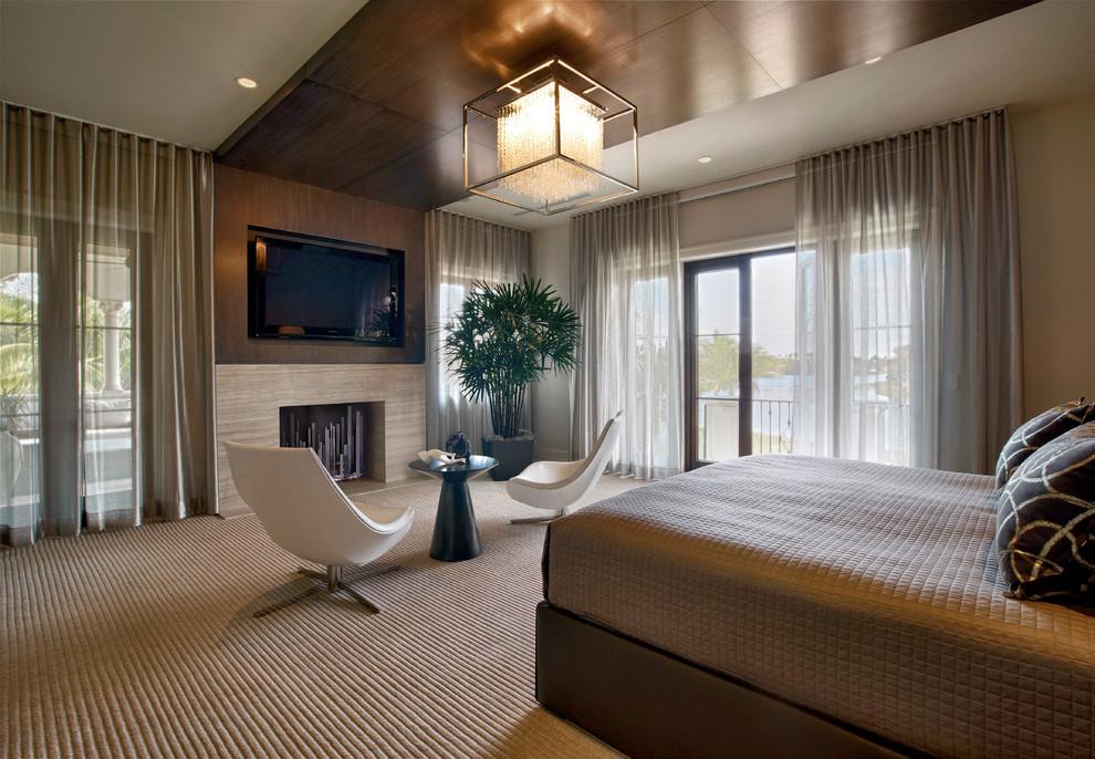 Дизайн интерьера спальни в доме