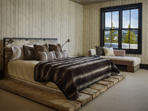 15 Charming Rustic Bedroom Interior Designs To Keep You Warm In The Cold Winter Nights