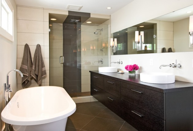 15 Dapper Modern Bathroom Interior Designs Worth Seeing