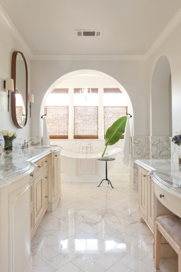 15 Glamorous Mediterranean Bathroom Designs That Will Make Your Jaw Drop
