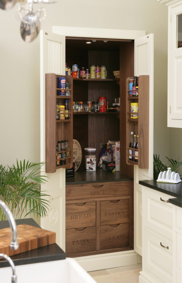 kitchen storage room 15 handy kitchen pantry designs with a lot of storage room 3174