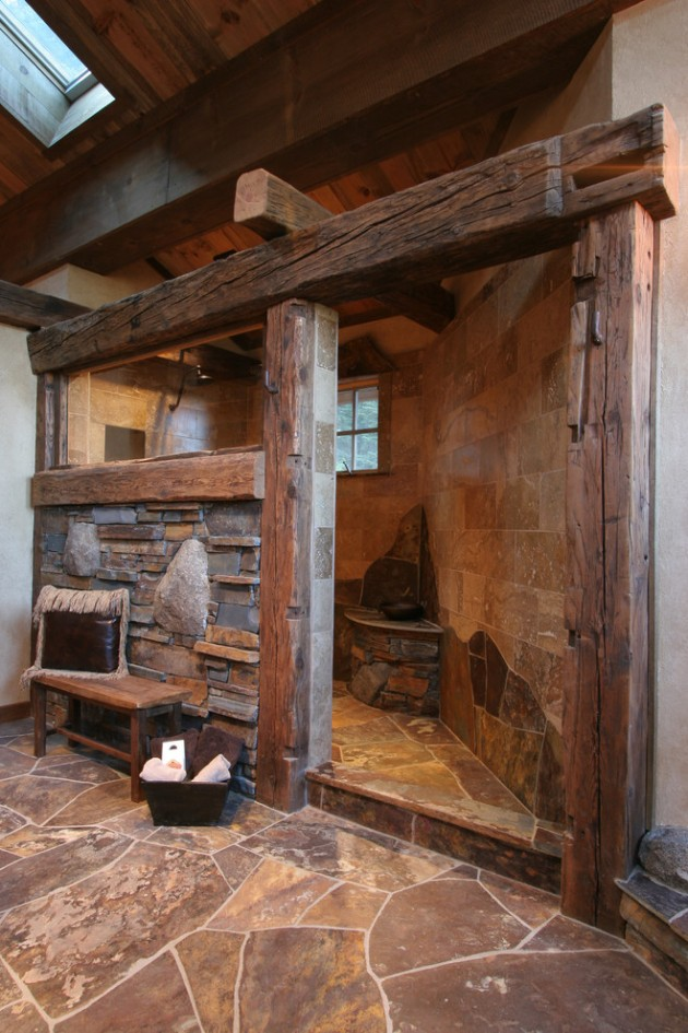 rustic bathroom shower ideas 15 heartwarming rustic bathroom designs for the winter 20272
